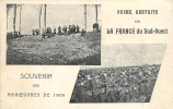 Manoeuvres De 1906, Souvenir France Du Sud Ouest. 2 Scans. - Manovre