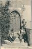 Gruyères - Maison De Chalamala, Petits Armaillis Devant La Porte, Héliogravure - Costumes
