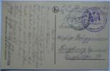 1916 DR GERMANY FELDPOST POSTCARD ARRAS FRANCE TO SIEGBURG GERMANY WITH  INF RGT VON LUTZOW NO.25 STAMP - Deutschland