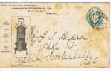 Great Britain: Preprinted Cover 1904 Eccles-> Focleshall - Interi Postali