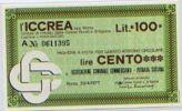 Bro 20 Miniassegno- Ass. Commercianti Di Petralia Sottana - [ 4] Emissioni Provvisorie