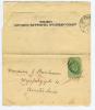 Great Britain: Paper Wrapper To Amsterdam Holland, Complete, Anglo American Telegraph Cy. - Interi Postali