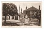 CPA - 78 -  Osmoy Le Moutier ( Entre Septeuil Et Orgerus ) Place De L'Eglise Et Monuments Aux Morts Peu Commune - Septeuil