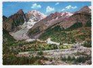 COURMAYEUR (AOSTA) - Frazione Entreves, Monte Bianco E Ghiacciaio Della Brenva. Viaggiata 1964. - Italia