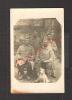 (t)militaria 14/18=carte Photo Militaire - Groupe De Soldats + Chien à Vannes  . - 1914-18