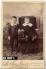 Foto Um 1900,  H. Huebner  Chicago, Maße 14,3 X 10 Cm Auf Pappe Aufgeklebt - Photos
