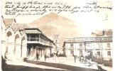 64953)cartolina Illustratoria Inglese, Firmata Jose N. Pierola -panorama Di Una Località - Bolivia