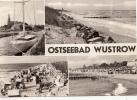 B44614 Ostseebad Wustrow Multiviews Boats Bateaux Used Perfect Shape - Luechow