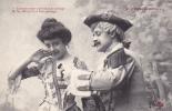 19304 Couple Amoureux XVIIIe AUX PORCHERONS -voir Corsage Tetins Menage 5- Trefle CCCC Andrieu - Couples