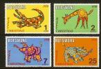 BOTSWANA 1970 MNH Stamp(s) Christmas 67-70 - Christmas
