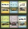 NEVIS 1986 MNH Stamp(s) Automobiles 398-409 - Cars