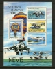 NEVIS 1983 MNH Block 3 200 Years Manned Flights - Airships