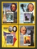 NEVIS 1986 MNH 4x Block 12-15 Statue Of Liberty - St.Kitts And Nevis ( 1983-...)