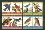 NEVIS 1985 MNH Stamp(s) Birds J.J. Audubon 252-259 - Birds