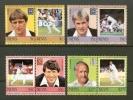 NEVIS 1984 MNH Stamp(s) Cricket Players 220-227 - Cricket