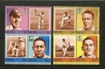NEVIS 1984 MNH Stamp(s) Cricket Players 186-193 - Cricket
