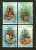 NEVIS 1982 MNH Stamp(s) Corals 84-87 - Marine Life