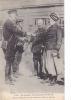 19342 Officier Arabe Des Spahis Saluant Des Officiers Anglais. Guerre 1914-15 ; FF Paris 390 Courrier Amoureux - Guerre 1914-18