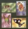 NEVIS 1983 MNH Stamp(s) Butterflies 90-93 - Butterflies