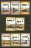 NEVIS 1986 MNH Stamp(s) Railway Locomotives SG427-442 - Trains