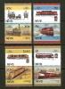 NEVIS 1985 MNH Stamp(s) Locomotives 340-347 - Trains
