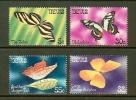 NEVIS 1981 MNH Stamp(s) Butterflies 67-70 - Butterflies