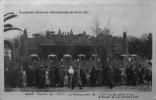 Exposition Coloniale Internationale Paris 1931 : Palais De L´AOF, Le Restaurant De L´AOF Et Sa Pièce D´eau - Expositions