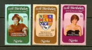 NEVIS 1982 MNH Stamp(s) Diana Birthday 71-73 - Royalties, Royals