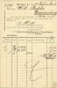 Germany Firm Card ThomasphosphaWurzener Kunstmuhlenwerke & Biscuitfabriken, Wurzen 24-9-1901 Mill Moulin Muhle - Molens