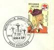 Belgium Cover With Postmark Metropolic Dancing, World Cup Berchem 24-3-1979 - Dans