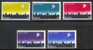 MALAWI 1969 MNH Stamp(s) Christmas 118-122 - Christmas