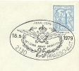 Belgium Cover With Postmark BELGIAN ARMY AVIATION 1954-1979, Brasschaat 18-5-1979 - Vliegtuigen