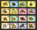 LESOTHO 1984 MNH Stamps Butterflies 442-457 #2688 - Butterflies