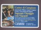 VIACARD 042 - CASINO' DI CAMPIONE - LIRE 50.000 - Non Classificati