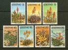 LESOTHO 1977 MNH Stamps Succulents 221-227 - Plants