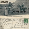 Idylle Gruérienne à Broc, 1910. 5 - Le Comte Rodolphe De Gruyères Invité à Danser La Coraule - Autres