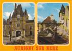 19362 AUBIGNY SUR NERE - LE CHATEAU DES STUART , Ilot Anne Eglise Martin. 18 éd Nivernaises 13327