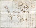 Lettre De M.Bouet, étudiant En Droit à Paris, à Sa Mère à Layrac (32), 1817, Avec Marque Rare - Documents Historiques