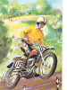 19375 Moto Cross, Dessin 12. MD Paris, Série 5391 3/3 - Motos