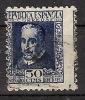 España U 0692 (o) Lope De Vega. 1935. Foto Esacta - 1931-Hoy: 2ª República - ... Juan Carlos I
