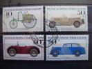 ALEMANIA FEDERAL- IVERT 955/58 SERIE COMPLETA USADOS ( VUHICULOS HISTORICOS MUSEO DE MUNICH ) - Cars