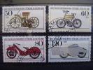 ALEMANIA FEDERAL- IVERT 1000/03 SERIE COMPLETA USADOS ( MOTOS HISTORICOS MUSEO MUNICH ) - Motorbikes