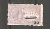 ESPRESSO Italy Changed Value - 1900-44 Victor Emmanuel III.
