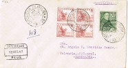 4969. Carta Certificada REUS (Tarragona) 1947 - 1931-Today: 2nd Rep - ... Juan Carlos I