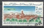 """1967-68   Alg.   N°   PA 16  Obl. .  Avion """"Caravelle"""" Et Vue De El Oued . - Algérie (1962-...)"""