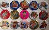 Set Of 15 Souvenir Badges With Strong Magnets (04) ! - Non Classés