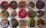 Set Of 15 Souvenir Badges With Strong Magnets  (03) ! - Non Classés