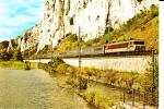 CPSM TRAIN Le TEE 11 MISTRAL Défilé De Donzère Locomotive CC 6500 Juillet 1977 - Treni