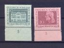DDR 1959  YT 449-450  / 200. Geburtstag Von Schiller MiNr.733-734 MNH** With Tab - [6] República Democrática