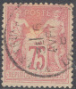 # France 83, Used, Sound (fr083-2, Mich. 66II, [16-AAR - 1876-1898 Sage (Type II)